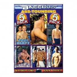 PACK 5 DVD ASS TOUDING