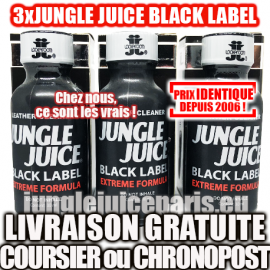 PACK OF 3 JUNGLE BLACK LABEL 30ML
