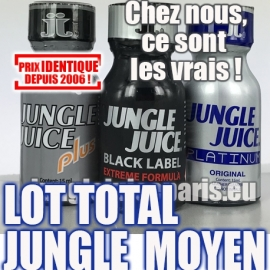 LOT TOTAL JUNGLE MOYEN