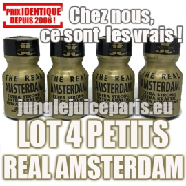 LOT 4 PETITS REAL AMSTERDAM 10ML