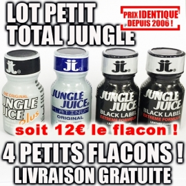 LOT PETIT TOTAL JUNGLE