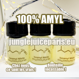 VRAI POPPERS 100% NITRITE AMYLE 24ML